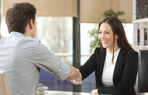 Handshake with the Client