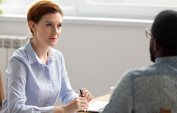 HR in Interview measures passion in candidate